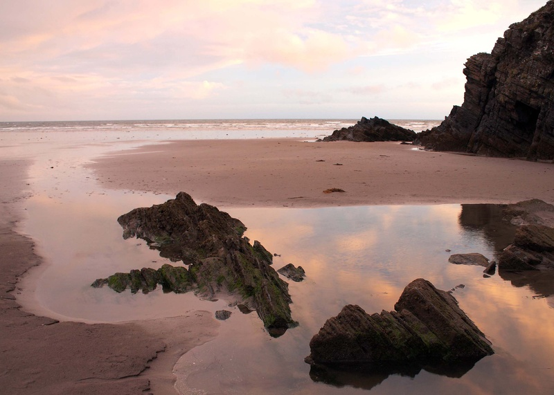 Black Rock Sands at sunset
